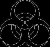 Biohazard-Symbol