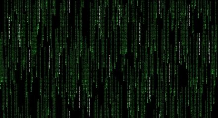 """Die Grafik aus dem Film """"The Matrix"""""""